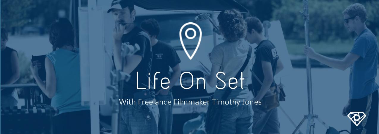 Life On Set TJ 1 - Life On Set - With Timothy Jones - interviews