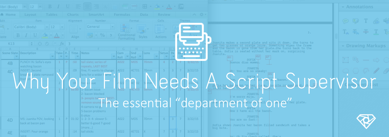 Script Supervisor - Why Your Film Needs A Script Supervisor - on-set, crew-positions
